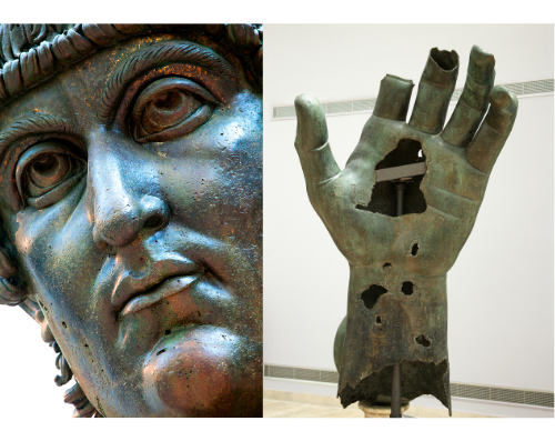 Colosso bronzeo di Costantino